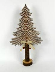 DUE ESSE Świąteczne dekoracje drewniane drzewo 47 cm