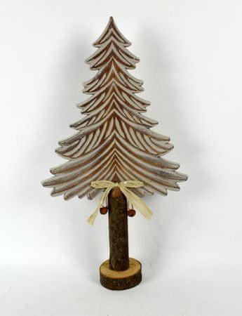DUE ESSE Božična dekoracija leseno drevo, 47 cm