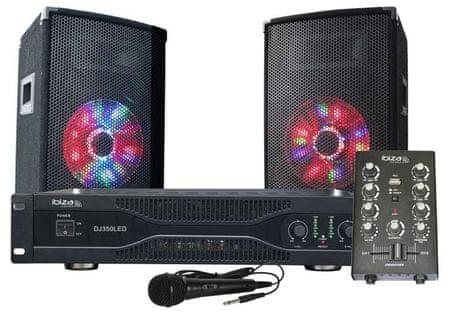 IBIZA SOUND DJ350LED