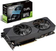 Asus DUAL Evo OC GeForce RTX 2080 SUPER, 8 GB GDDR6 grafična kartica