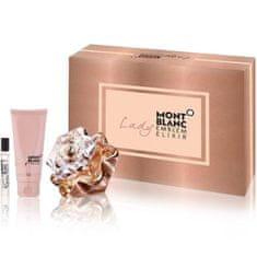 Mont Blanc Lady Emblem Elixir - EDP 100 ml + body lotion 100 ml + EDP 7,5 ml