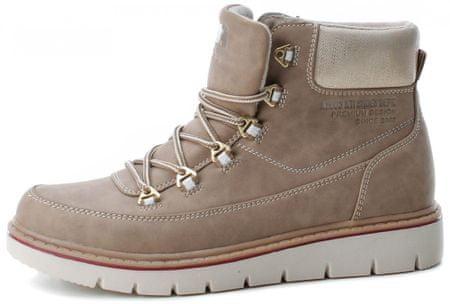 XTI dámská kotníčková obuv 49285 41 hnědá