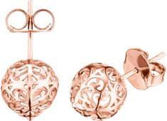 Engelsrufer Różowe złocone srebro Kolczyki Angel Bells ERE-ER1-STR srebro 925/1000