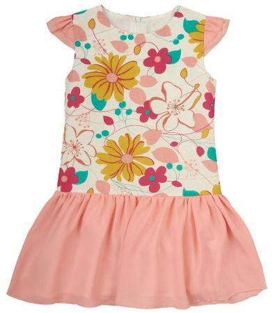 Garnamama sukienka dziewczęca md35886_fm2 98 wielokolorowa