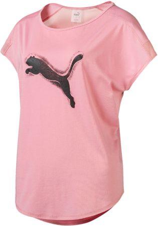 Puma Studio Mesh Cat Tee ženska majica Bridal Rose, L