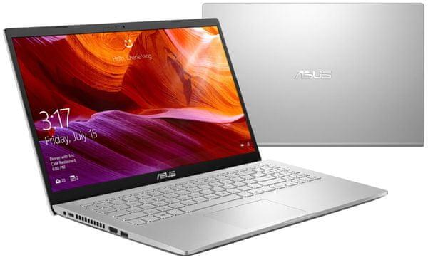 Notebook Asus X509FB 15,6 palce Full HD integrovaná grafika Intel 8. generace NanoEdge tenký rámeček displeje
