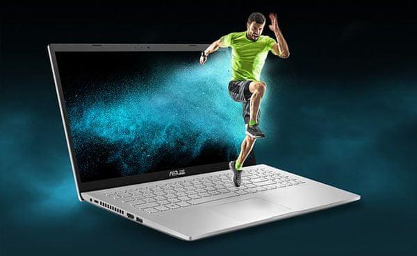 Notebook Asus X509FB 15,6 palce Intel 8. generace NVIDIA GeForce MX USB-C výkonný