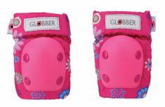 Globber Chrániče pre deti 2 dielne Flowers Pink XXS