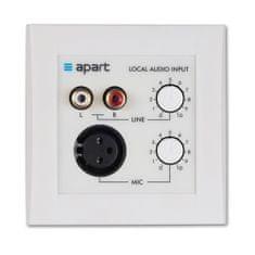 Apart  ALINP Aktivní přípojný audio panel