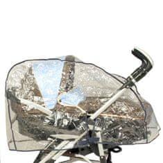 Bambisol pláštěnka HPL na kočárek, skořepinu, průhledná