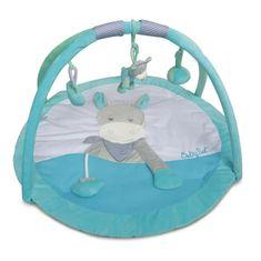 Babynat hrací deka s hrazdičkou PICOTIN & COQUILLETTE - modrá