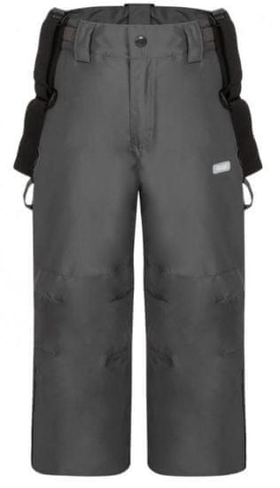 Loap detské lyžiarske nohavice Cutie 112/116 šedá