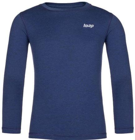 Loap Pitta fantovska termo majica, modra, 122/128
