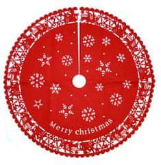 DUE ESSE Karácsonyfatartó borítás Ø 100cm, dekor 2