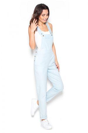 Katrus Női overál K380 light blue + Nőin zokni Gatta Calzino Strech, világos kék, XL