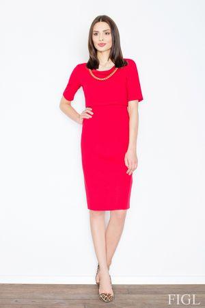 Figl Női ruha M446 red, piros, L