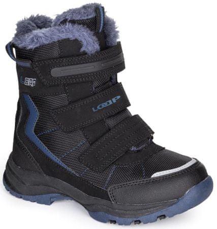 Loap Sneeky otroški zimski čevlji, modra/črna, 26