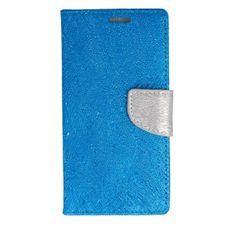 Havana preklopna maska Fancy Diary za Samsung Galaxy Xcover 4s G398 / Galaxy Xcover 4 G390, plava