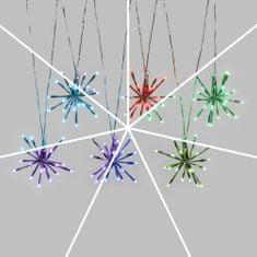 Xmas King Venkovní LED světelný řetěz Magic, 6m, 6 ozdob 20cm