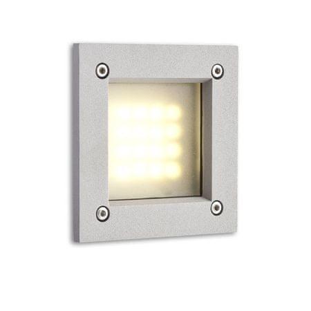 RED Design Rendl Venkovní svítidlo ATRIA LED zápustná stříbrná 230V LED 3W IP55 - RED - DESIGN RENDL