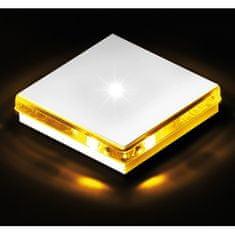 BPM BPM Dekorativní LED svítidlo Renk hliník - žlutá 1ks 1W 8035.04