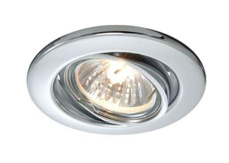 Light Impressions Light Impressions Kapego stropní vestavné svítidlo 12V AC/DC GU5.3 / MR16 1x max. 50,00 W stříbrná 686869