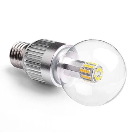 Softled.at LED žárovka E27 8,9W CL A60 2700K