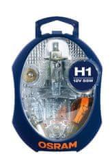Osram OSRAM sada autožárovek H1, náhradních žárovek a pojistek
