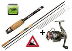 Giants Fishing Akce Rybářský prut Giants Fishing LXR Feeder 11ft 50-100g + naviják zdarma!