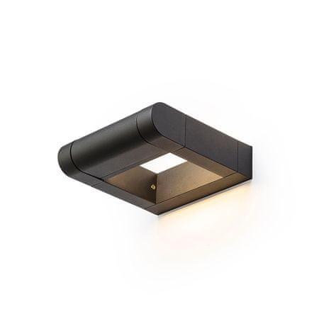RED Design Rendl RENDL AQUE nástěnná matná černá 230V LED 8W IP54 3000K R12623