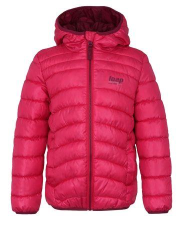 Loap dievčenské bunda Infery 122/128 ružová