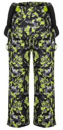 Loap Cubby otroške smučarske hlače, siva/rumena, 112/116