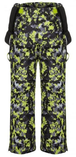 Loap detské lyžiarske nohavice Cubby 112/116 sivá / žltá