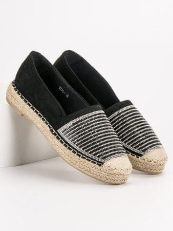 Vices Női balerina cipő 54360, fekete, 36