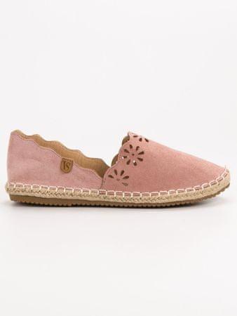 Vices Női balerina cipő 54143, rózsaszín árnyalat, 38