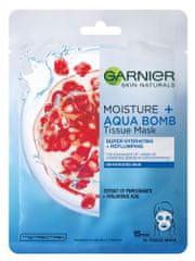Garnier Skin Naturals Tissue Masks Moisture + aqua bomb tekstilna maska za hidratizaciju