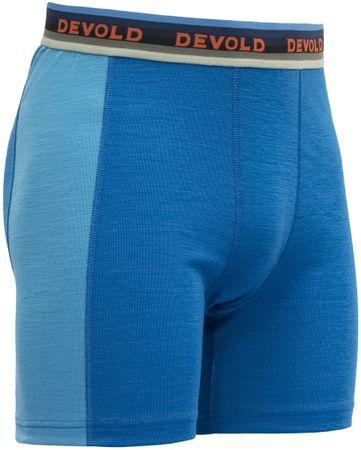 Devold moške boksarice Hiking Man Boxer Skydiver, M, modre