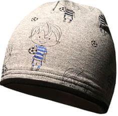 Yetty chlapecká čepice s fotbalistou