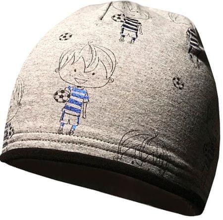 Yetty fantovska kapa z nogomatašem, S, siva