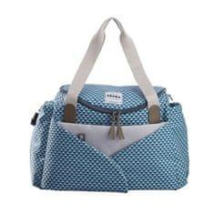 Béaba přebalovací taška Sydney II - kostkovaná modrá