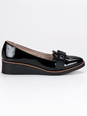 Vinceza Női balerina cipő 45309 + Nőin zokni Sophia 2pack visone, fekete, 40