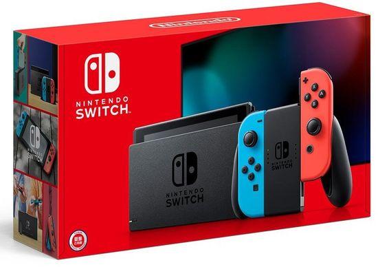 Nintendo Switch, červená/modrá (NSH006)