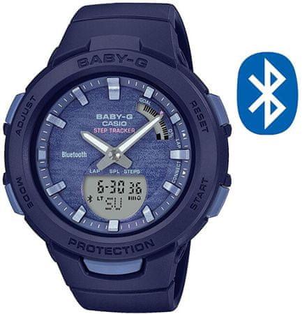 Casio BABY-G Step Tracker Bluetooth BSA-B100AC-2AER (620)