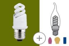 Paulmann Paulmann Úsporná žiarovka patice 5W E27 teplá biela 870.36 P 87036 87036