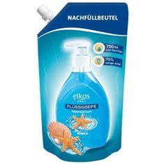 Edeka Elkos tekuté mýdlo, náhradní náplň mořský sen - 750 ml