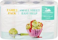 SHP Harmanec Harmony Kuchyňské papírové utěrky PRAKTIK 11 m, 2 vr., 4 ks v balení