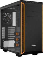 Be quiet! Pure Basa 600, okno, čierno-oranžová