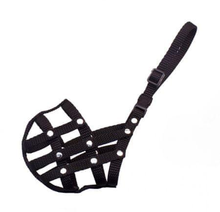 BAFPET Nylonový náhubok KOKR, pletený čierny