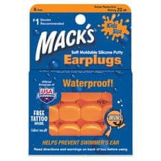 Mack's měkké tvarovatelné ucpávky pro děti - 6 párů