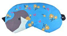 Earplugs Maska na oči na spaní Ptáček